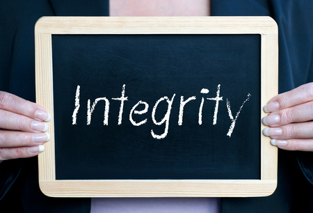 integrity: Integrity Stock Photo
