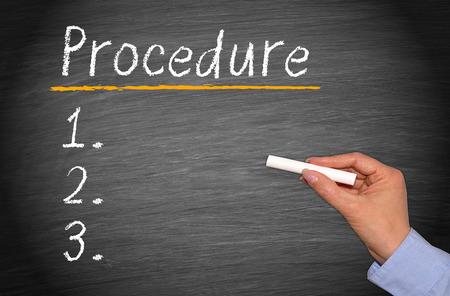 Procedure Stok Fotoğraf - 27835770