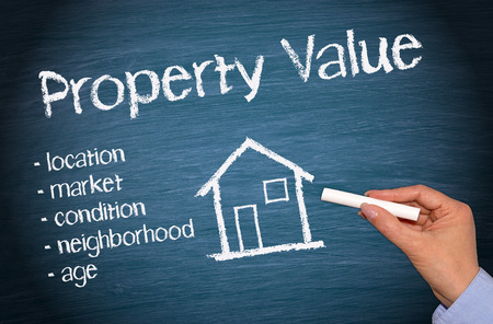 business value: Property Value - Real Estate Concept