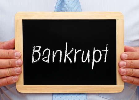 broke: Bankrupt