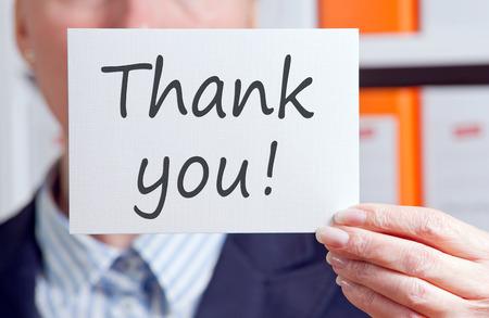 thank: Thank you