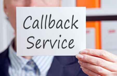 Callback Service photo