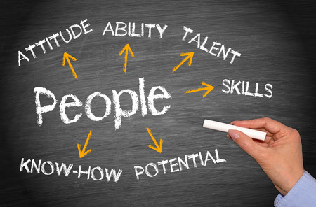 talent management: People - Business Concept