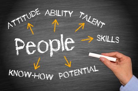 Personen - Geschäfts-Konzept