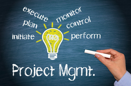 consulting concept: Project Management