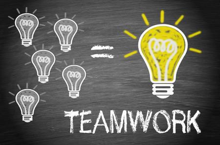 Teamwork - Business Concept