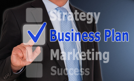 approval button: Business Plan