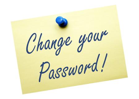 Change your Password photo