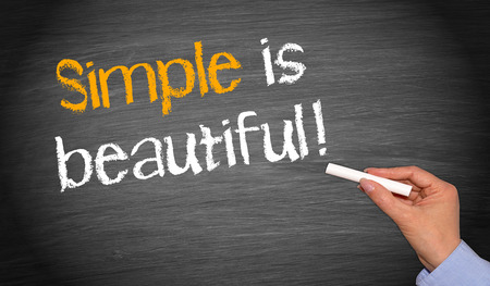 quotations: Simple is beautiful