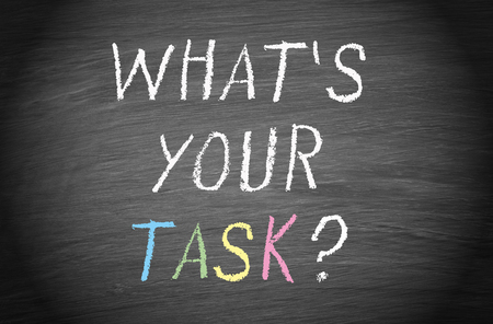 business roles: What is your task
