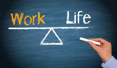 Work-Life-Balance  Standard-Bild