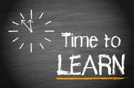 formations: Tijd om te leren