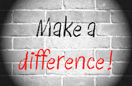 Make a difference photo
