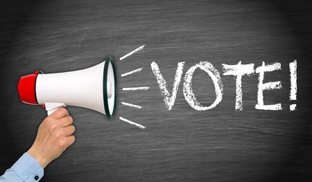 Vote   Stock Photo - 30734443