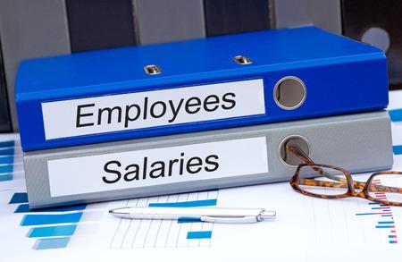 recursos financieros: Los empleados y los sueldos del personal