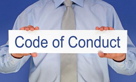 valores morales: Código de conducta