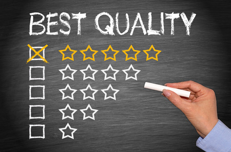 rank: Best Quality - 5 Stars Stock Photo