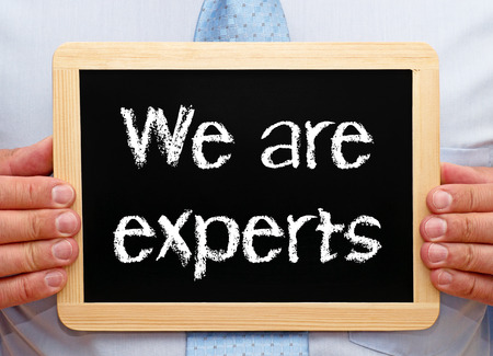 We are experts photo