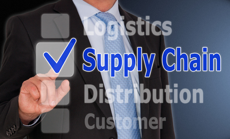 Supply Chain - Business Concept photo