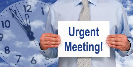 last minute: Urgent Meeting