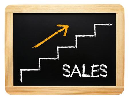 Sales Performance Stock Photo