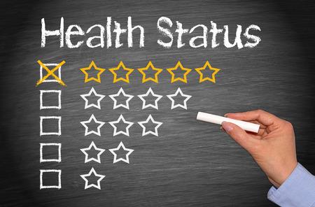zdraví: Zdravotní stav Reklamní fotografie
