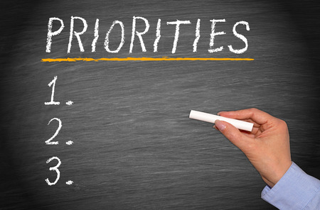 priority: Priorities - Checklist