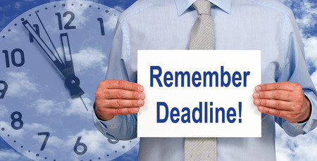 Remember Deadline photo