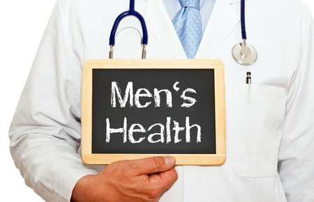 urology: Mens Health Stock Photo