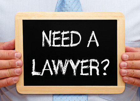 Need a Lawyer? Banque d'images