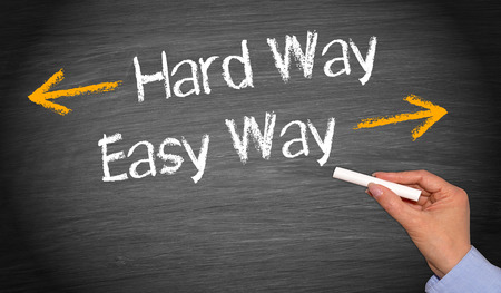 easy way: Hard Way and Easy Way