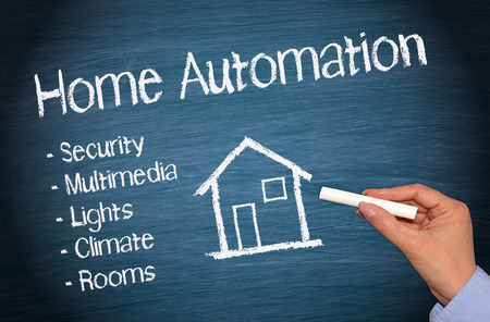 Home Automation Stock Photo