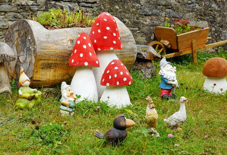 lawn gnome: Beautiful Garden