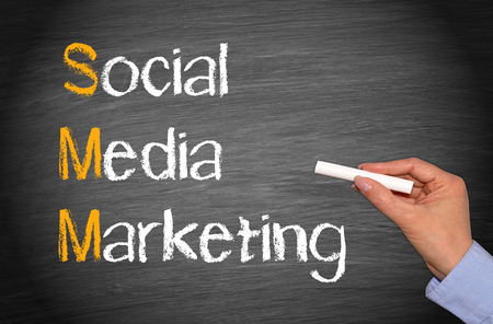SMM - Social Media Marketing Stock Photo - 33102062
