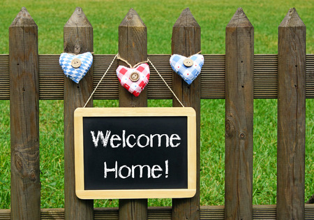 home garden: Welcome Home!