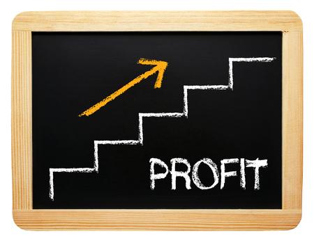 Profit Banque d'images