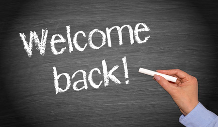 Welcome back! photo