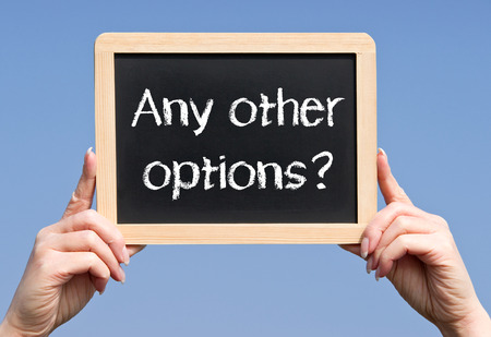 Any other options? photo