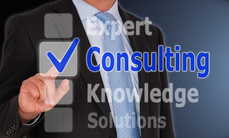 consulting concept: Consulting - Business Concept