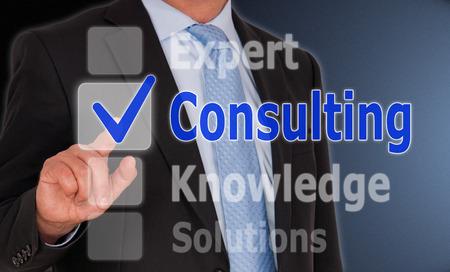 business consulting: Consulting - Business Concept