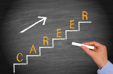 stair: Career - Business Concept Stock Photo