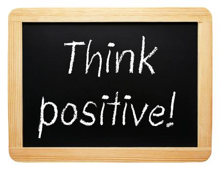 Think positive! photo