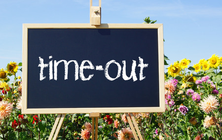 weekend break: time-out - Relax Concept Stock Photo