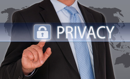 Privacy Foto de archivo