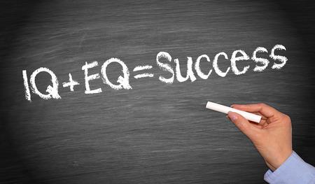 IQ plus EQ = Success photo