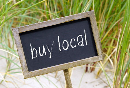 farms: buy local Stock Photo