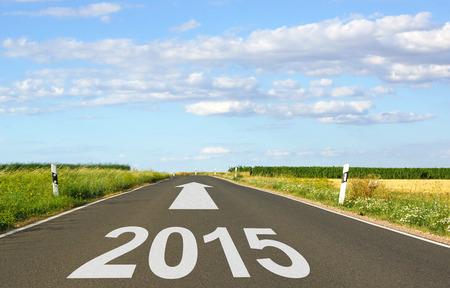 2015 - New Year Stock Photo