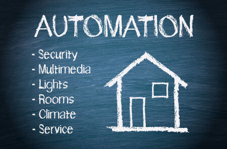 home automation: House Automation Stock Photo