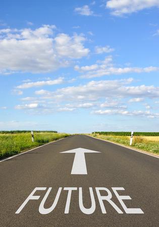 未来 - 矢印の通り
