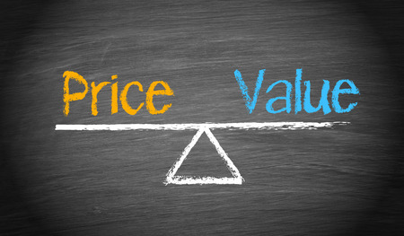 Price and Value Stock Photo - 34176643